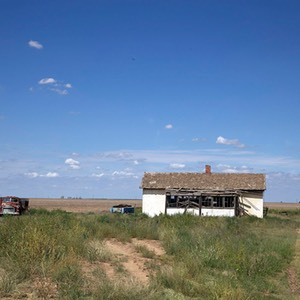 12 Derelict Property alongside US Route 64, Oklahoma Panhandle