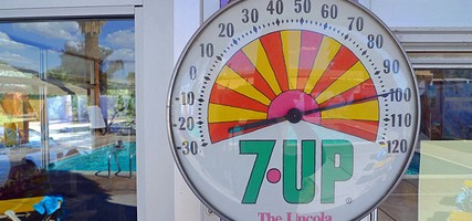 7-Up 100 degrees at 29 Palms