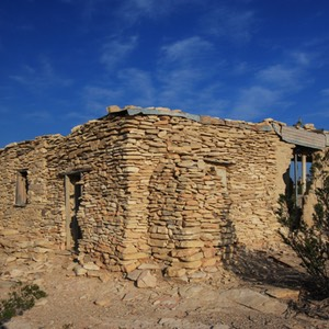 Abandoned Building, Terlingua Ghost Town, TX