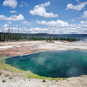 Abyss Pool, West Thumb, Yellowstone