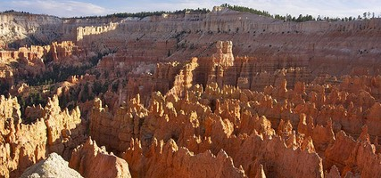 Bryce Canyon, Sunset Point Light