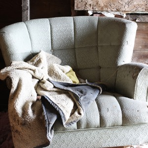 Chair and Jacket, Abandoned Homestead, North Dakota
