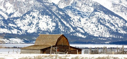 Day 3: John Moulton barn, Mormon Row, Grand Teton National Park