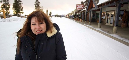 Day 4: Carole, Off-season West Yellowstone