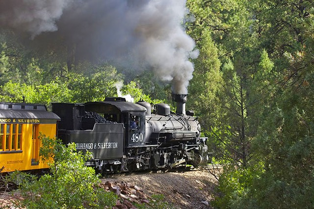 Durango & Silverton Narrow Gauge Railroad, Loco 480