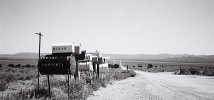 Mail Boxes on Dusty Road