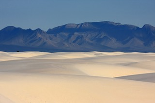 San Andres Mountains, White Sands National Monument