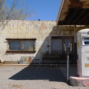 Whiting Brothers Gas Station, Newberry Springs, Route 66