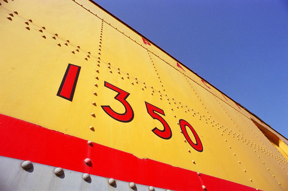 Union Pacific 1350, Cody Park ...