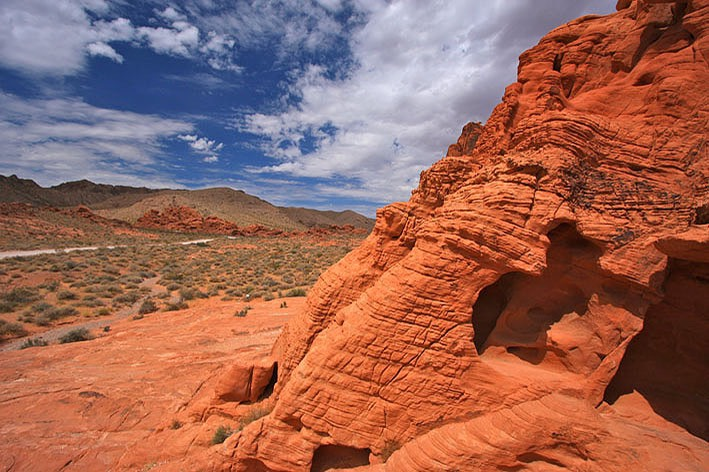 Valley of Fire State Park, Rock Caves, West Entrance